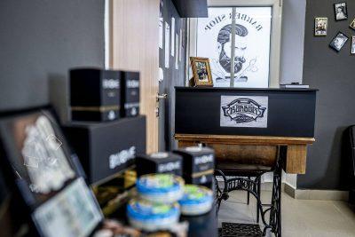 Mižu Scissorhands Barber shop Zábřeh na Moravě