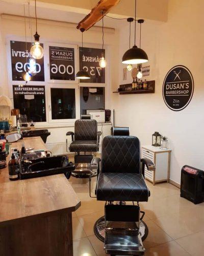 Dusan's barber shop Zlín