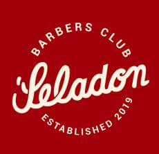 Logo Seladon Barbers Club